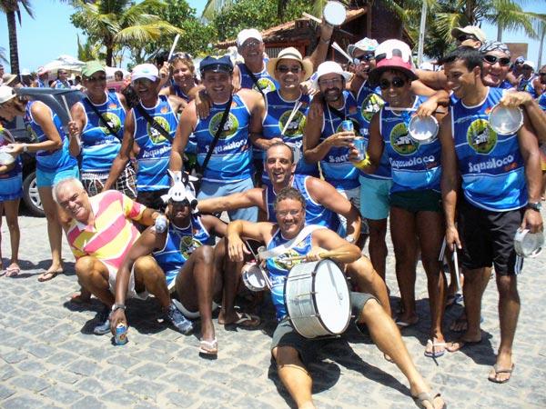 O pessoal do Saquabloco, da Vila, Centro de Saquarema.