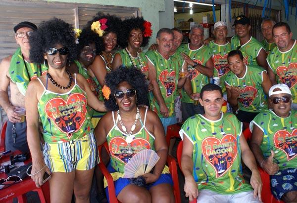 A Primeira Banda de Jaconé, a novidade do bairro.