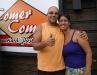 Carel e a esposa Jamili