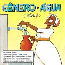A cartilha Gênero e Água é subdividida em 4 títulos, sobre cidade e meio rural