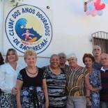 A presidenta Suely com sócios e a secretária de saúde Cristina (Foto: Edimilson Soares)