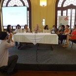 A conferência foi coordenada pelo diretor do IBASE, Cândido Grzybowsqi  (Foto: Dulce Tupy)