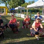 Nesta edição houve a prova de corrida dos atletas com seus cães (Foto: Divulgação)