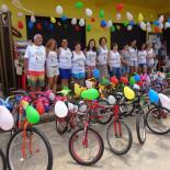 A comunidade unida de Barra Nova realizou uma festa com muitos brindes (Foto: Edimilson Soares)