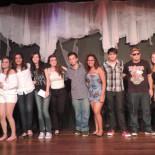 Família CNEC feliz com o resultado do evento literário (Foto: Divulgação CNEC)