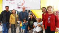 A tenda dos escritores com alguns de seus ilustres participantes (Foto: Dulce Tupy)