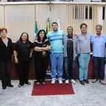 Os representantes dos setores culturais que estão debatendo a cultura em Saquarema no fórum Fecult, realizado na Câmara Municipal (Foto: Agnelo Quintela)