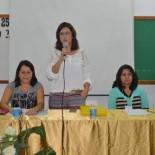A secretária municipal de Desenvolvimento Social, Paula Magno, abriu os trabalhos no IX Encontro Regional Lagos dos Conselheiros Tutelares do Estado do Rio de Janeiro que se realizou em maio, em Saquarema (Divulgação Facebook)
