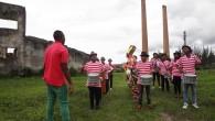 A banda composta por jovens estudantes resgata a Folia de Reis, traço cultural do município (Foto: Dulce Tupy)