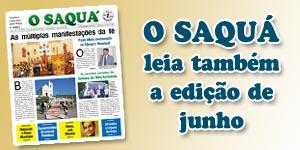Veja as matérias do Jornal O Saquá 187 - Junho 2015
