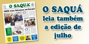Veja as matérias do Jornal O Saquá 188 - Julho 2015