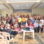 A conferência das Mulheres se realizou no Salão Paroquial da Igreja de Santo Antônio, em Bacaxá, local que tem sido referência para todas as conferências municipais (Agnelo Quintela)