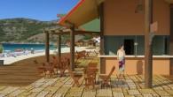 O projeto da orla em Arraial do Cabo contempla os quiosques (Divulgação)