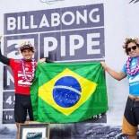 Gabriel Medina e Mineirinho, campeões mundiais de surfe em 2014 e 2015 (Divulgação)