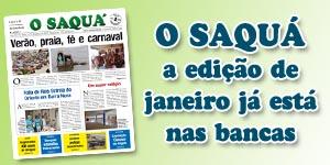 Veja as matérias do Jornal O Saquá 194 - Janeiro 2016