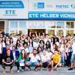 Os alunos ocuparam a unidade e reivindicam a qualidade na educação (Foto: Divulgação)